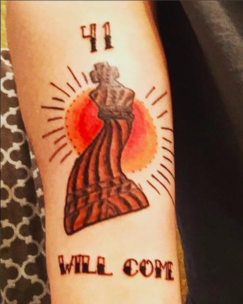 41 tattoo